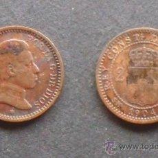 Monedas de España: ALFONSO XIII. 2 CÉNTIMOS. 1904 *04.. Lote 31401025
