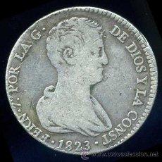 Monedas de España: FERNANDO VII : 4 REALES 1823 VALENCIA (PLATA). Lote 31798258