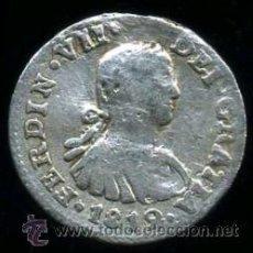 Monedas de España: FERNANDO VII : 1/2 REAL 1812 MEJICO (PLATA). Lote 31956196