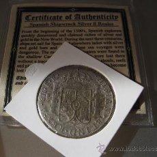 Monedas de España: 8 REALES CARLOS III CON CERTIFICADO PROCEDENTE DE PECIO EL CAZADOR. Lote 32315276
