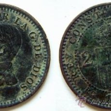 Monedas de España: 2 CENTIMOS ALFONSO XIII 1912. Lote 32414490