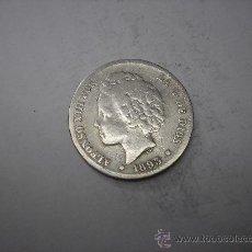 Monedas de España: 1 PESETA DE PLATA DE 1893.-- --. REY ALFONSO XIII. Lote 32460877