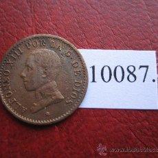 Monedas de España: ESPAÑA , 1 CENTIMO 1912 - 2 PCV , ALFONSO XIII, 13. Lote 32521198