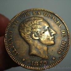 Monedas de España: PRECIOSA MONEDA DE ALFONSO XII - 10 CENTIMOS AÑO 1879 - MAS DE ESTE TIPO EN MI TIENDA TC. Lote 32522937