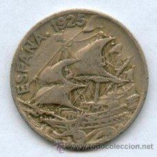 Monedas de España: 25 CENTIMOS AÑO 1925, BONITA Y ESCASA MONEDA. Lote 33451424