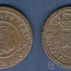 Monedas de España: FELIPE V 4 MARAVEDIS 1719 A.C.-1991 SEGOVIA MBC AE . Lote 33470662
