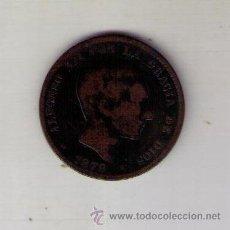 Monedas de España: MONEDA DIEZ CENTIMOS ALFONSO XII 1879. Lote 33791929