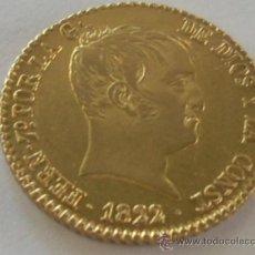 Monedas de España: ESPECTACULARES 80 REALES DE ORO FERNANDO VII MADRID 1822 SR. EBC+++. Lote 33794395