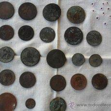 Monedas de España: LOTE DE MONEDAS ANTIGUAS . Lote 34313963