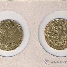 Monedas de España: 042-CARLOS III. 4 ESCUDOS (MEDIA ONZA). MADRID. 1786. DV. ORO. MBC.. Lote 34510753