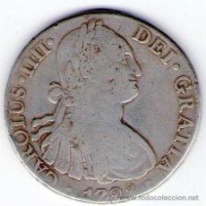 Monedas de España: CARLOS IV IIII 8 REALES DE PLATA 1798 MEJICO FM 25 GRAMOS. Lote 34519866