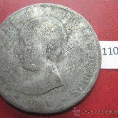 Monedas de España: ESPAÑA , 5 PESETAS , DURO , 1891 FALSA DE EPOCA EN CALAMINA , ALFONSO XII , 12, FALSO. Lote 34592442