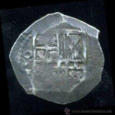 Monedas de España: FELIPE II : MACUQUINA DE 2 REALES MEJICO(PLATA). Lote 34654294
