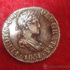 Monedas de España: MEDIO REAL DE FERNANDO VII - PLATA - MUY BIEN CONSERVADA - CECA DE SEVILLA- 1831-AUTENTICA Y RARA. Lote 34883035