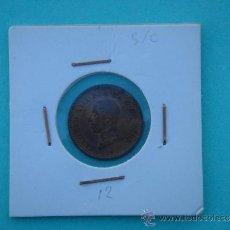 Monedas de España: DOS CÉNTIMOS ALFONSO XIII 1912 -SIN CIRCULAR-. IDEAL COLECCIONISTAS. . Lote 34890141