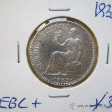 Monedas de España: MONEDA 1 PESETAS DE PLATA 1933 EXCELENTE. Lote 34909354