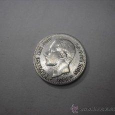 Monedas de España: 50 CENTIMOS DE PLATA DE 1881.8-1. REY ALFONSO XII. Lote 35211264