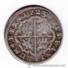 Monedas de España: FELIPE V 2 REALES DE PLATA 1723 MADRID A MONEDA PLATA ESPAÑA. Lote 35557853
