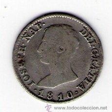 Monedas de España: JOSE NAPOLEON 4 REALES DE PLATA 1810 MADRID AI MONEDA PLATA ESPAÑA. Lote 35558036