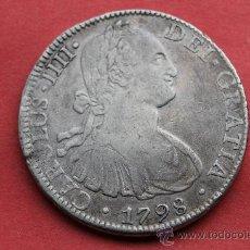 Monedas de España: 8 REALES CARLOS IV MEJICO 1798. Lote 35843294