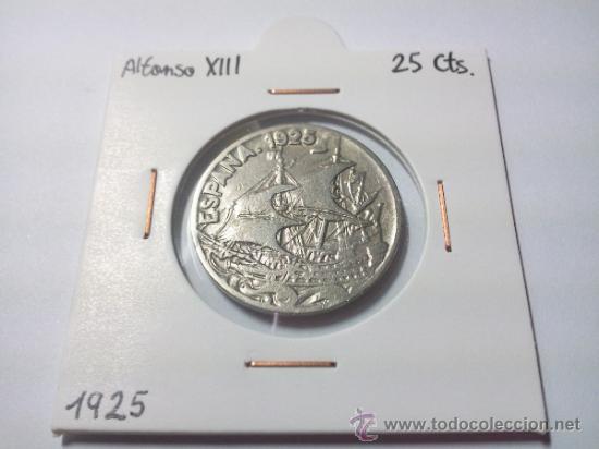 Monedas de España: 25 CÉNTIMOS 1925 ALFONSO XIII - Foto 3 - 32803920