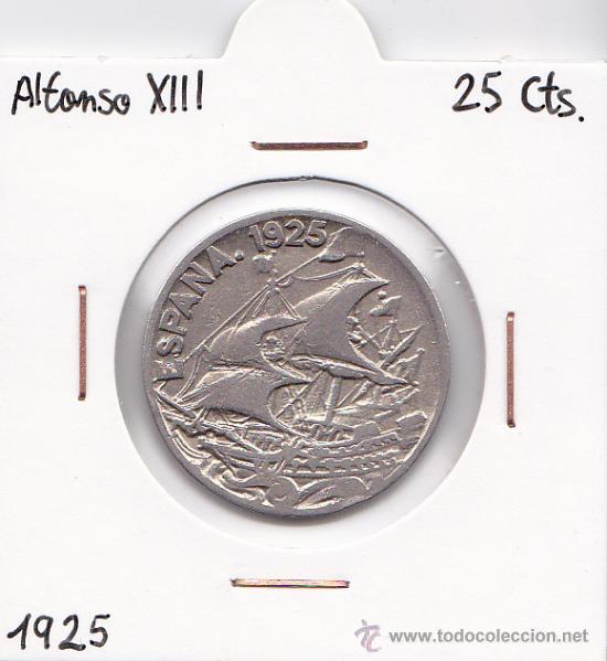 25 CÉNTIMOS 1925 ALFONSO XIII (Numismática - España Modernas y Contemporáneas - De Isabel II (1.834) a Alfonso XIII (1.931))