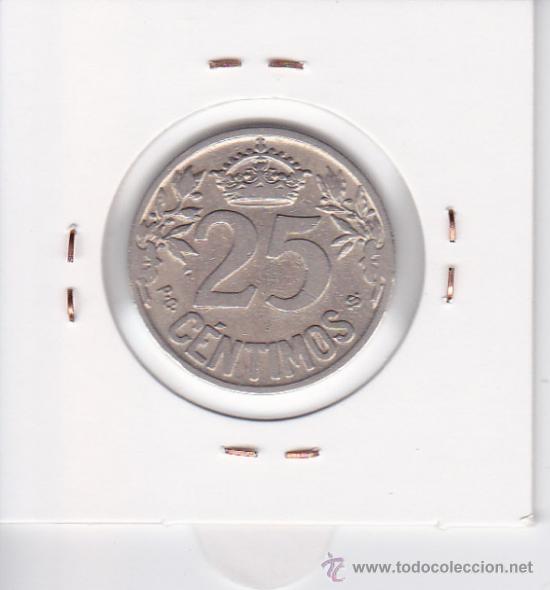 Monedas de España: 25 CÉNTIMOS 1925 ALFONSO XIII - Foto 2 - 32803920