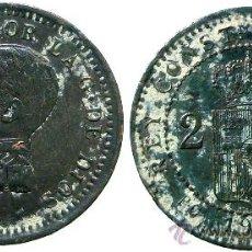 Monedas de España: ALFONSO XIII, 2 CÉNTIMOS 1911.. Lote 36121434