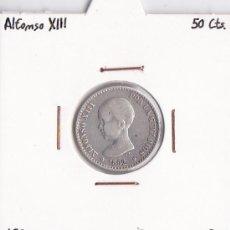 Monedas de España: 50 CÉNTIMOS 1892 ALFONSO XIII. Lote 36399085