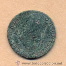 Monedas de España: MONEDA 499 FERNANDO VII COBRE 8 MARAVEDIS CECA DE SEGOVIA 1820 27 MM 8 GRMS TIPO 347 CALICÓ . Lote 36502841