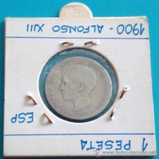 Monedas de España: UNA PESETA 1900, ALFONSO XIII. Lote 36592898