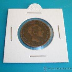Monedas de España: MONEDA DE COBRE 5 CENTIMOS ESPAÑA 1878, ALFONSO XII,. Lote 36720905