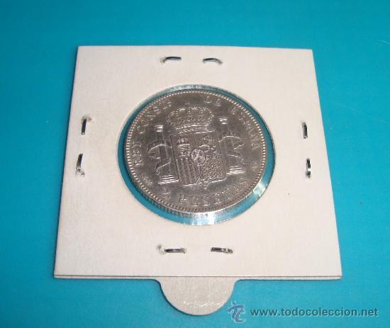Monedas de España: MONEDA DE PLATA DE 2 PESETAS ESPAÑA 1905, SMV, ALFONSO XIII - Foto 2 - 36721582
