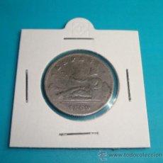 Monedas de España: MONEDA 2 PESETAS ESPAÑA 1869, SNM 18 69 GOBIERNO PROVISIONAL, PLATA. Lote 36721753