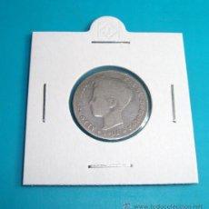 Monedas de España: MONEDA DE PLATA UNA PESETA, ESPAÑA 1901, SMV, ALFONSO XIII. Lote 36721844