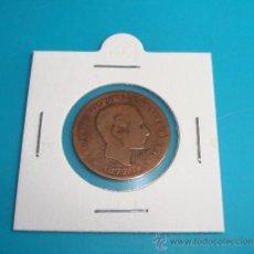 Monedas de España: MONEDA 5 CENTIMOS, ESPAÑA 1877, OM, ALFONSO XII, COBRE. Lote 36819296