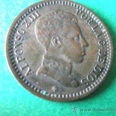 Monedas de España: -MONEDA DE ESPAÑA-2 CENTIMOS-1905 *05--ALFONSO XIII-COBRE-20 MM.D-.. Lote 36910101