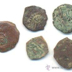 Monedas de España: Nº67—BARATOS CINCO DINEROS VALENCIA DINASTIA DE LOS AUSTRIAS FALSOS DE ÉPOCA. Lote 36947729