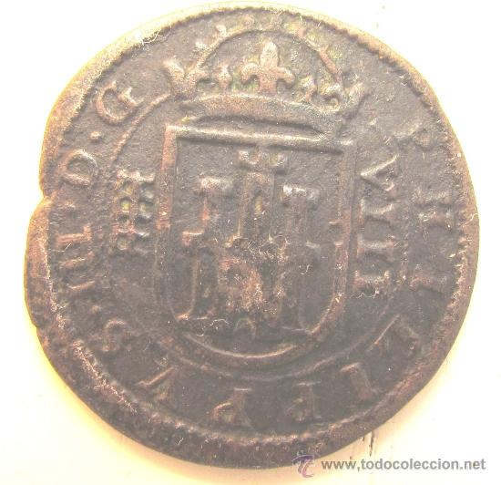 Monedas de España: 8 MARAVEDÍES 1604, FELIPE III, SEGOVIA. - Foto 2 - 36973701