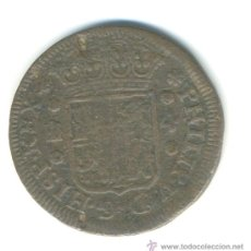 Monedas de España: 4 MARAVEDIS, SEGOVIA. FELIPE V, 1742. Lote 37179575