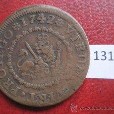 Monedas de España: ESPAÑA , 4 MARAVEDIS 1742 SEGOVIA, FELIPE V. Lote 37372535