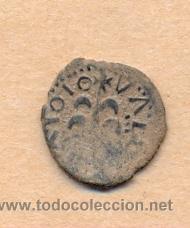Monedas de España: MONEDA 704 FELIPE III COBRE CECA DE VALENCIA ACUÑADA A MARTILLO DINERO SE LEE D C EN ANVERSO - Foto 2 - 37537754