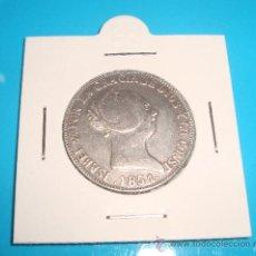 Monedas de España: MONEDA DE PLATA 10 REALES ISABEL II SEVILLA 1851. Lote 37626495