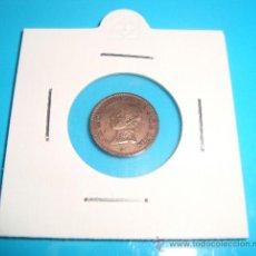 Monedas de España: MONEDA DE COBRE, 1 CENTIMO, ALFONSO XIII, MADRID PC V, 1913 (*3). Lote 37729968