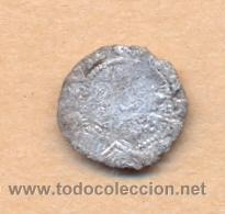 Monedas de España: MONEDA 783 FERNANDO E ISABEL PLATA 1/4 REAL CECA DE BURGOS SE LEE B - MARCA DE CECA EN REVERSO - Foto 2 - 37844843
