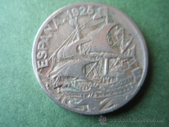 -MONEDA DE ESPAÑA-25 CENTIMOS-1925-25 MM.D-. (Numismática - España Modernas y Contemporáneas - De Isabel II (1.834) a Alfonso XIII (1.931))
