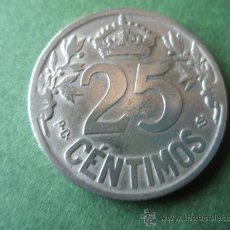 Monedas de España: +MONEDA DE ESPAÑA-25 CENTIMOS-1925-26 MM.D-.. Lote 37891980