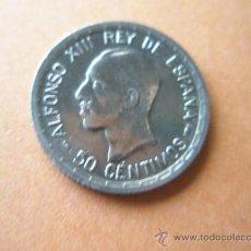 Monedas de España: -MONEDA DE ESPAÑA-50 CENTIMOS-1926-PLATA--.. Lote 37960350