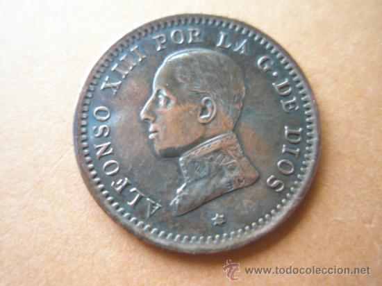 -MONEDA DE ESPAÑA-2 CENTIMOS-1911*11-COBRE-PERFECTA-. (Numismática - España Modernas y Contemporáneas - De Isabel II (1.834) a Alfonso XIII (1.931))
