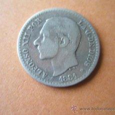 Monedas de España: -MONEDA DE ESPAÑA-50 CENTIMOS-1881*8*1-PLATA-. Lote 37960709